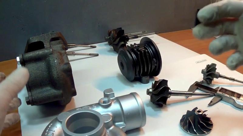 Гибридная турбина на VW 1.9TD Engine AAZ. Часть 1.