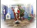 Дедушка мороз танцует в детском саду на классный час🎆🎉🎀🎄🎁🎊🎁🎂🐕