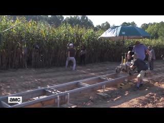 THE WALKING DEAD 9x11 Bounty Making-Of Featurette [HD] Norman Reedus, Melissa Mc