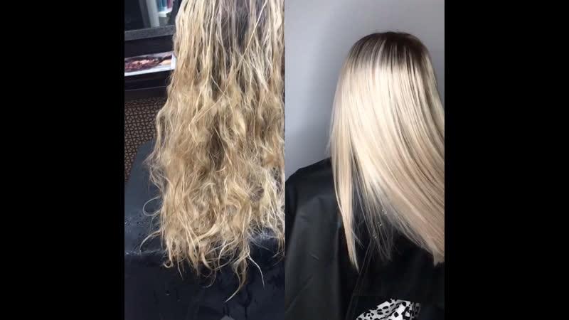 Ботокс для волос Омск
