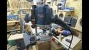 Bosch GOF 1250 LCE auf Festool-Schiene