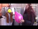 Lisa und Barbara erklären Wirtschaft mittels vieler bunter Luftballons - N2P
