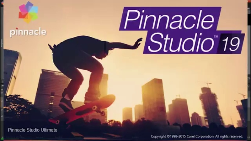 Видео уроки Pinnacle Studio 19 Урок №1
