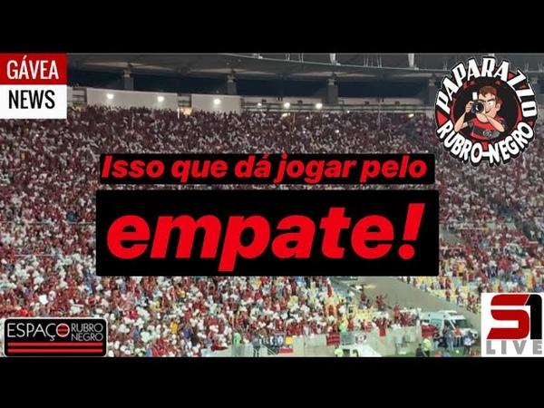 Pós-Jogo FLA 0x1 FLU! Abelão jogou pelo empate e acabou atrapalhando homenagem aos NOSSOS10
