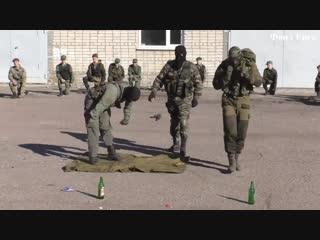 В Ейске прошли показательные выступления руководителей и кадетов ОВПО