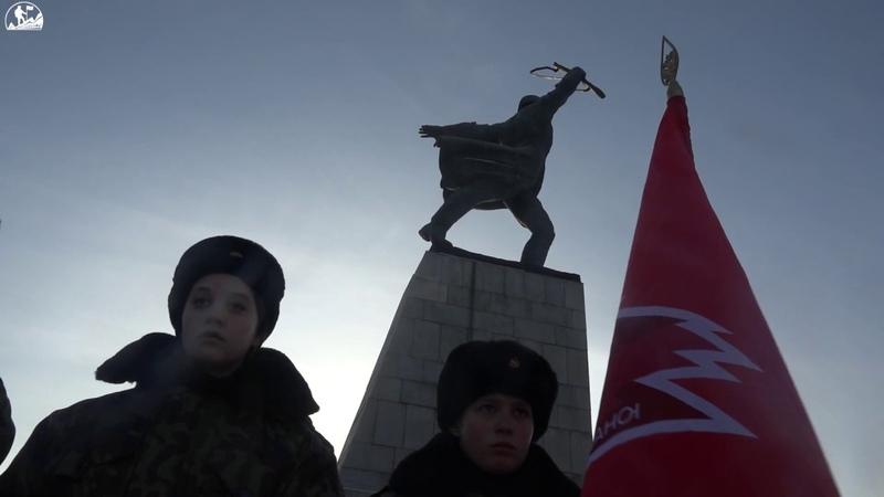 Героям битвы под Москвой Рубеж Славы – 2018