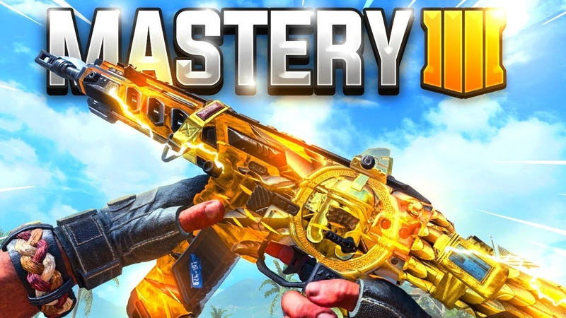 MASTERY CAMO GAMEPLAY in Black Ops 4..