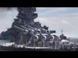 Первый официальный трейлер World of Warships: Legends