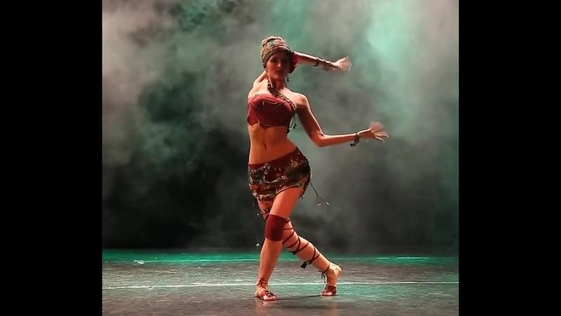 Tribal Fusion - Belly Dance -Yana Kramneva ! O SA ITI PLACA ASTA