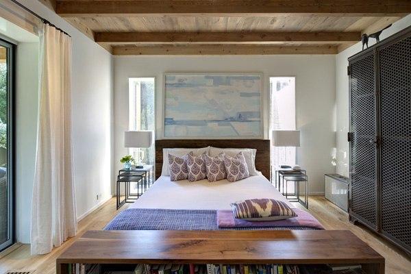 Дом с панорамными окнами в США