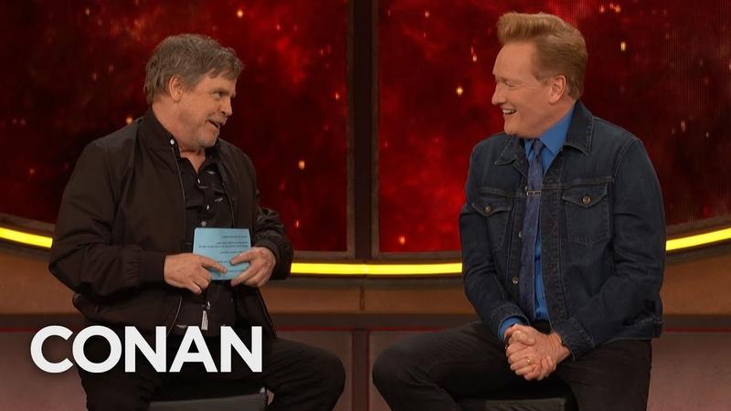 Mark Hamill Gives Conan The Comic Con® Citizenship Test CONAN on TBS