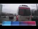 Столичный водитель не пропустил машину скорой помощи в Лефортовском тоннеле