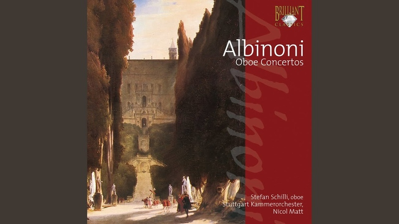 Concerto a cinque in D Minor for Solo Oboe and Strings, Op. 9 No. 2 II. Adagio