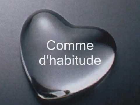 Comme d'habitude Claude Francois