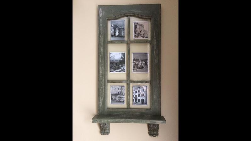 Не выбрасываем старую кухонную дверцу Photo frame of the door DIY