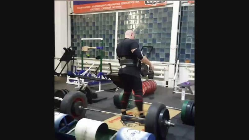 Тренировки становой тяги в СилаСибири Deadlift