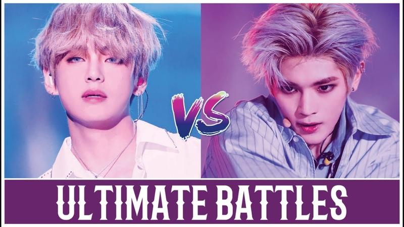 [Ultimate Battles] BTS's V vs NCT's Taeyong