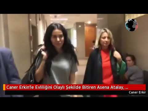 Caner Erkin'le Evliliğini Olaylı Şekilde Bitiren Asena Atalay, İş Adamı Ahmet Talha Kaya'ya...
