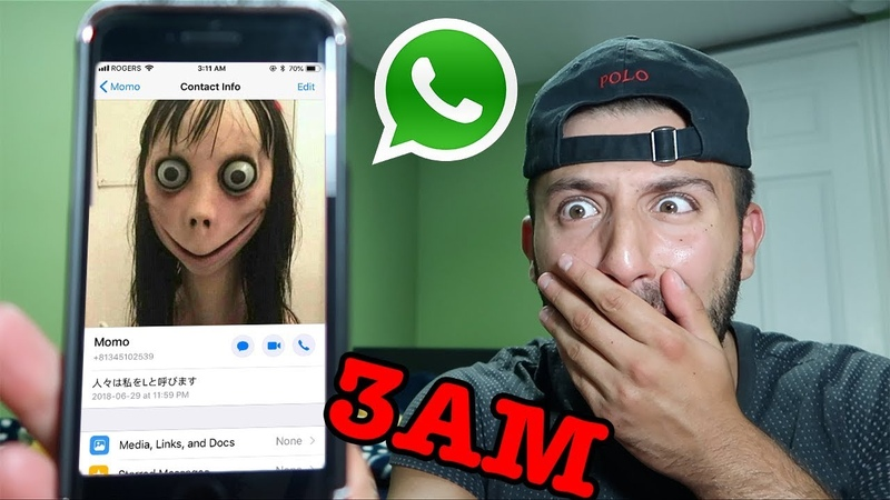 (THE REAL MOMO) DONT MESSAGE MOMO ON WHATSAPP AT 3AM *THIS IS WHY* | MOMO CALLED ME ON FACETIME 3AM