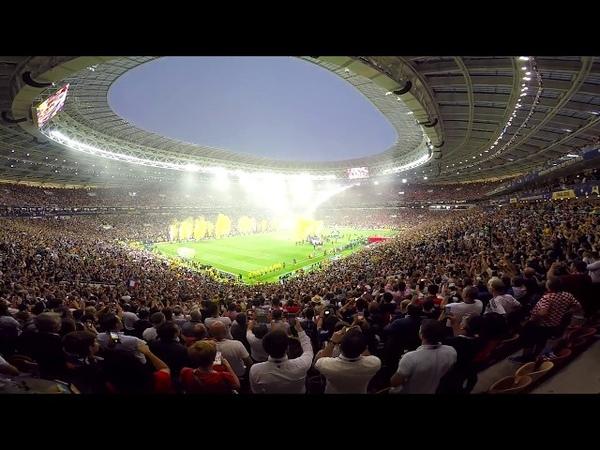 На финале чемпионата мира по футболу в России 15.07.2018