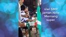 Siswi SMP Jaman Now Bebas merokok di warung