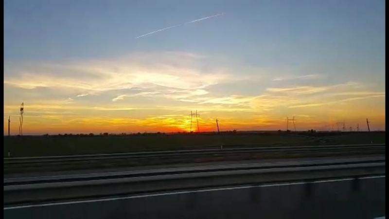 Закат над Кубанью. Дорожные заметки