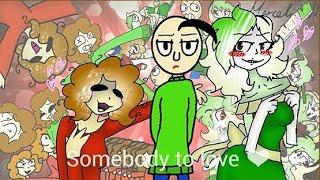 Baldis basics EAL | flipaclip | No shipping | Somebody to love | animation meme