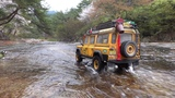 110 Scale Land Rover DEFENDER D110 CAMEL TROPHY Off Road #2