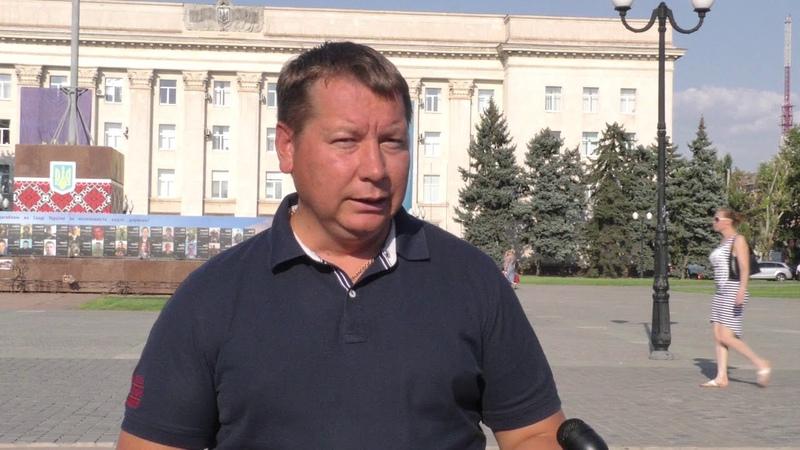 Коментар А.Гордєєва про заходи щодо ліквідації джерела неприємного запаху в Херсоні.