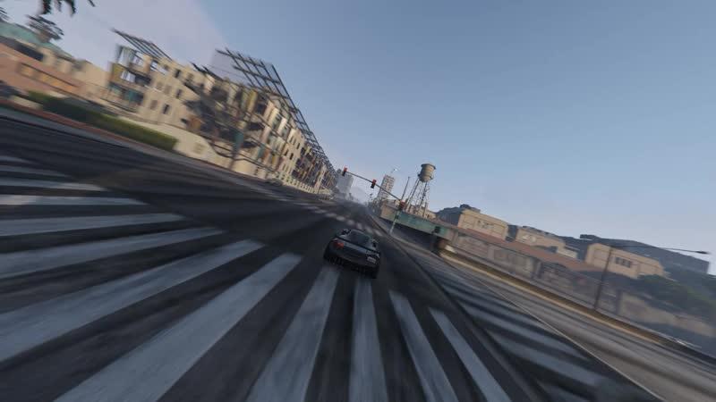 Гонки по улицам Los-Santos GTA V Часть 2