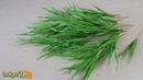 ТРАВА ИЗ БУМАГИ. Трава из гофрированной бумаги. Зелень для букетов из конфет. Мастер-класс.
