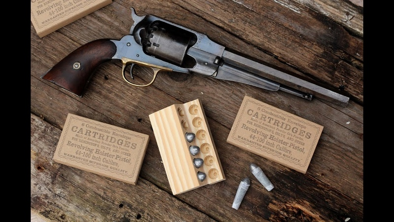 Making the Civil War time paper cartridge box for percussion revolvers