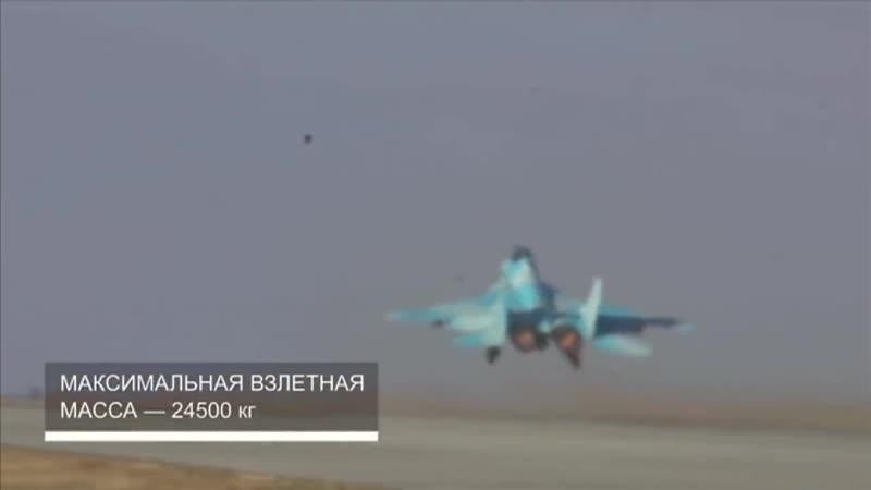 Впервые уникальные кадры тестов новейшего истребителя МиГ 35