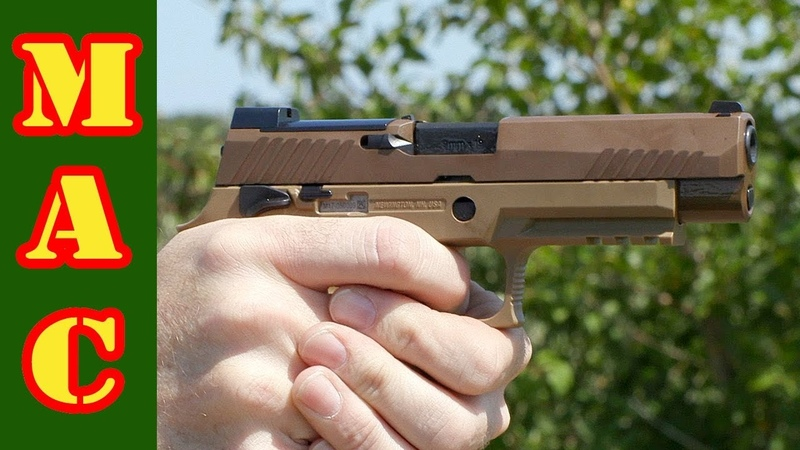 Sig M17 and the P320s Modularity