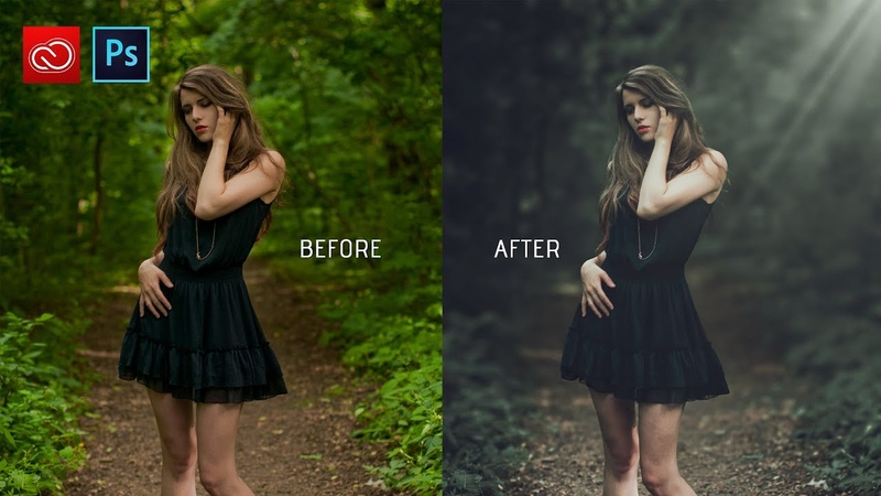 Photoshop cc tutorial How to edit outdoor photo | How to retouch outdoor photo