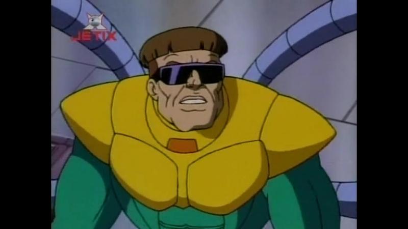 Человек паук 1994 года Сезон 1 Серия 5 Доктор Осьминог вооружён и опасен