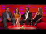 Emilia Clarke and Cara Delevingne Have An Eyebrow-Off - The Graham Norton Show