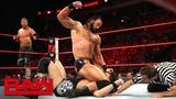 The B-Team vs. Dolph Ziggler &amp Drew McIntyre - Raw Tag Team Championship Match Raw, Sept. 3, 2018