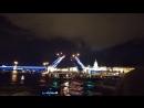 Разведение дворцового моста Санкт Петербург