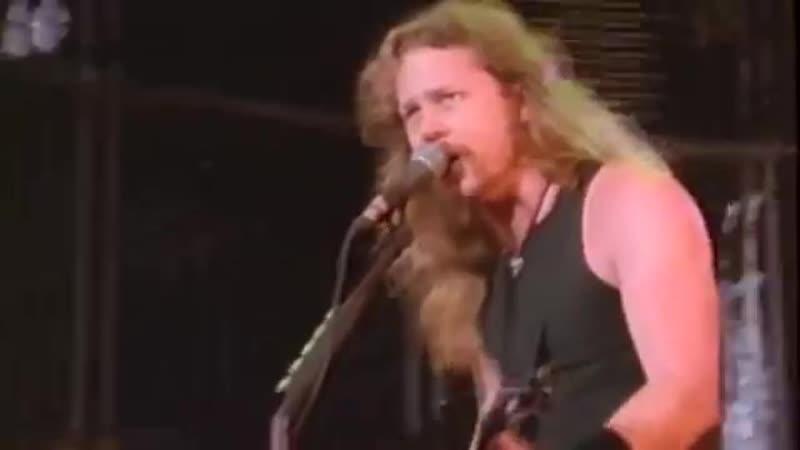 Metallica - Enter Sandman Live Moscow 1991