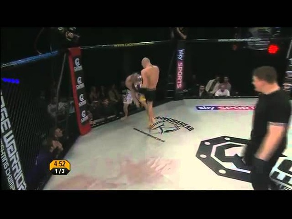 12 Conor McGregor vs Steve O'Keefe CWFC 45 Cage Warriors Fighting Championship 45 2012 02 1