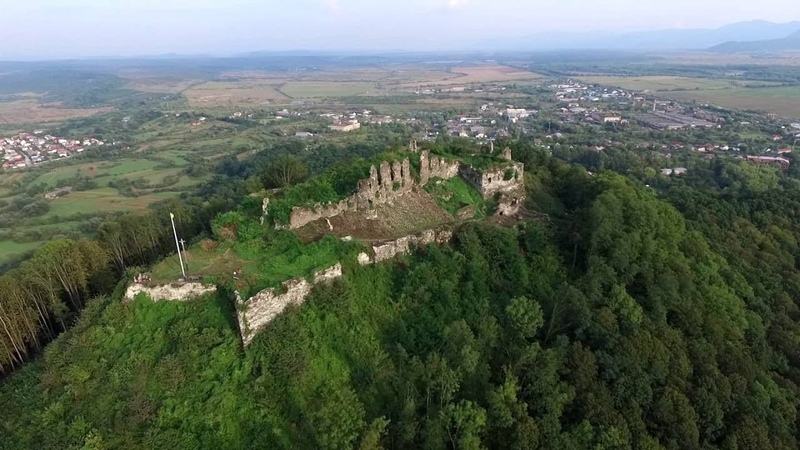 Хустський замок Khust castle
