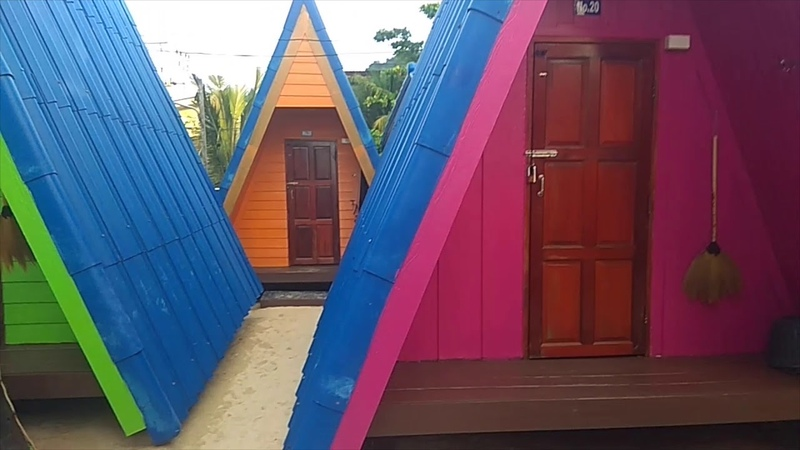 Мой домик на берегу моря в Таиланде)