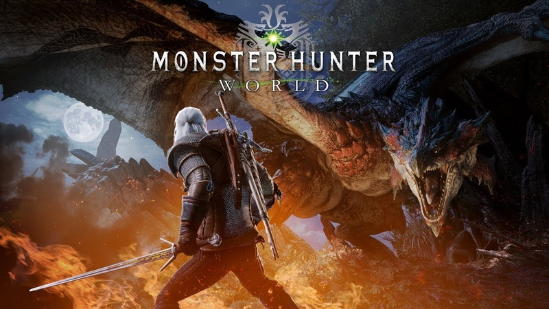 Monster Hunter World – The Witcher 3 Wild Hunt collaboration trailer