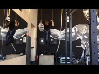 Muscle up +44,25kg  x 3 2 2