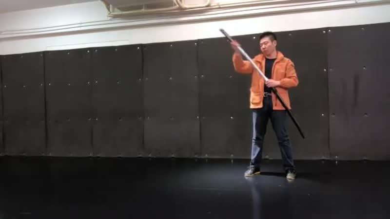 Вращение меча