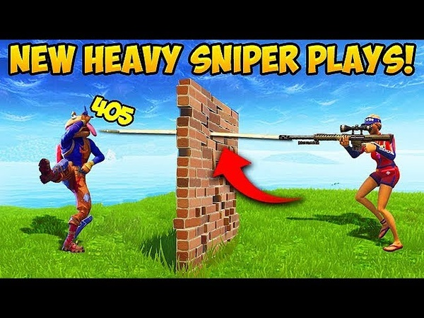 *NEW* HEAVY SNIPER IS BROKEN! - Fortnite Funny Fails and WTF Moments! 290