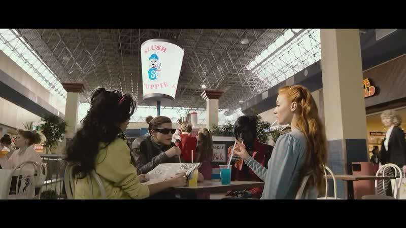 Люди Икс Апокалипсис Первая Встреча Скота Самерса И Джин Грей И Сцена В Игровом Центре И В Кинотеатре На Английском