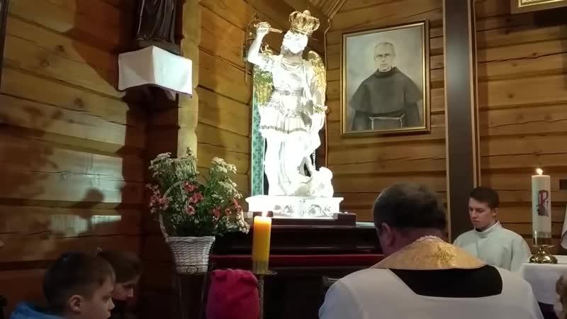 Перэгрынацыя фігуры святога Міхала Арханёла