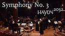 Haydn Symphony No 3 Kammerorchester Basel Giovanni Antonini Haydn2032 live